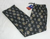 Richmond Tigers AFL Mens AF9040S W20 Printed Flannel Sleep Pants Size XXL New