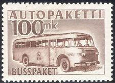 Finland 1952 (1958) Parcel Post/Postal Bus/Coach/Transport/Motoring 1v (s4559r)
