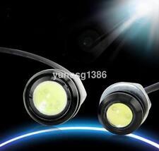 10X 12V 9W LED Round Car Daytime Running Light Head Lamp Eagle Eye Light US