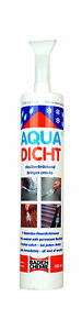 Aqua Dicht-dichtet sofort-Reparatur-Dichtmasse-faserverstärkt-300 ml transparent