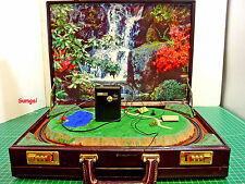 Z Scale Z Gauge Handmade Briefcase Model Train Layout w/MARKLIN Track  FREE SHIP