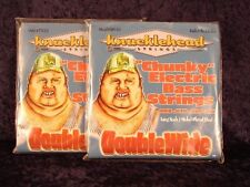 2 PACKS of KNUCKLEHEAD 4 STRING BASS GUITAR STRINGS 50 to 110 NEW