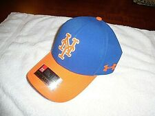 Under Armour New York Mets Baseball Hat OSFA CoolSwitch Curved Brim MLBDriverCap