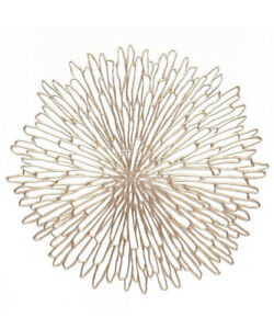 4pk Pressed Bloom Placemats Champagne - Chilewich