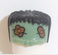 Lego Frankenstein Monster Hair x 1 Sand Green & Black for Minifigure