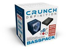Crunch CPX1000.4 Definition Basspack 4CH - Subwoofer +4 Channel Amplifier + Kabe