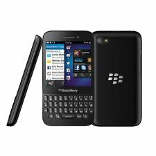 Blackberry Q5 Negro Desbloqueado 8GB smartphone QWERTY-Grado B-Garantía