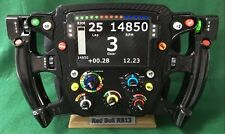 Red Bull F1 FULL SIZE Replica RB12/13 steering wheel, display. Not Amalgam.