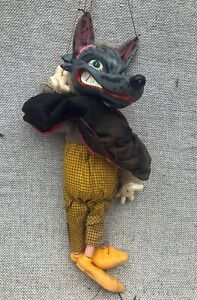 Pelham Wolf Puppet - Vintage