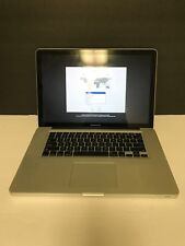 """MacBook Pro 15"""" A1286 Mid 2009 C2D 2.66GHz 4GB 320GB Battery 7 Cycles 30 DAYWTY"""