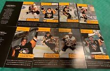 COMMEMORATIVE PENGUINS CARD Set of 8 PITTSBURGH TRIBUNE REVIEW 30th Anniversary