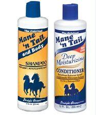 Mane N Tail Original Conditioner and Shampoo 12oz UK SELLER