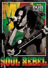 Bob Marley 3D Lenticular Poster - Soul Rebel 46.8 x 67cm New