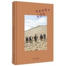 Seventeen-[Teen,Age]Orange Ver 2nd Album CD+Poster(On)+PhotoBook+Card+Stand+etc
