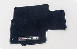 Mitsubishi Eclipse Cross textile mats