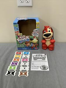 Mattel 2009 Red Rover Dog Educational Game Toy W/ 12 Bones VGUC FS Bnfts Charity