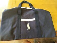 Ralph Lauren Navy Weekend Gym Duffel Bag