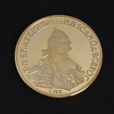 Golden Russian Bird Human Commemorative Coin Collection Art Gift Souvenir Alloy