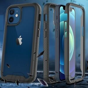 Clear Case Cover For iPhone 12 11 8 PRO MAX Armour Heavy Duty Rugged Shockproof