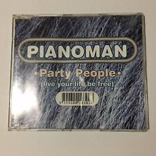 Pianoman ‎– Party People (Live Your Life Be Free) CD Maxi Single _Good+.  (2697)
