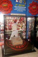 KEN GRIFFEY JR CINCINNATI REDS 2007 MOUNTED MEMORIES GAME USED DIRT DISPLAY CASE