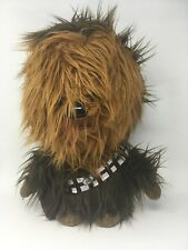 """Disney Star Wars Chewbacca Deluxe Talking Toy 15"""" Chewy Plush Brown Stuff Figure"""