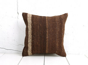 "16"" x 16"" Pillow Cover Kilim Pillow Cover OLD FAST Shipment With UPS 04920"