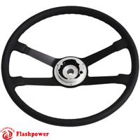 395mm Reproduction VDM Leather steering wheel Restoration Porsche 911 912 914