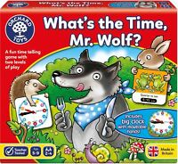Orchard Toys WHAT'S THE TIME, MR. WOLF? Educational Game Puzzle BN