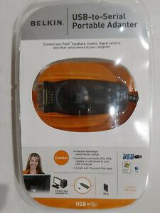 Belkin USB to Serial Adapter. F5U409-v1.New in sealed package.