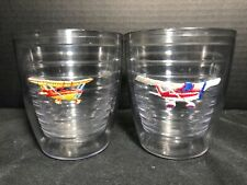 Set of 2 Airplane Themed Tervis Tumbler - 12 oz Party Cups