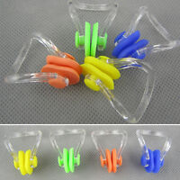 3X Waterproof Soft Swimming Nose Clip Plug for Swim Training Kids or Adult's New