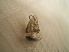 STERLING SILVER CHARM CHINESE JUNK BOAT