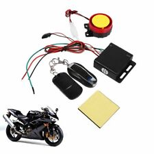 Motorcycle Bike Keyless Anti-theft Security Alarm System W/ 2 Remote Control 12V