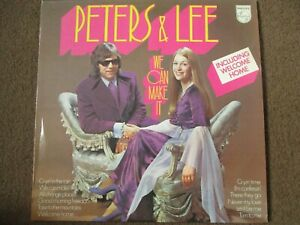 PETERS & LEE - WE CAN MAKE IT - LP/RECORD - PHILIPS - 6308 165 - UK - 1973