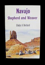 Navajo Indian Weaving - Wool - Colors - Patterns - Looms - Gladys Reichard