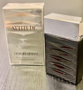 ATTITUDE Giorgio Armani Men  EDT Spray 1.7 oz New In Sealed Box