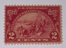 Travelstamps: 1924 US Stamps Scott #615, Landing at Fort Orange 2¢, mint, mnh og