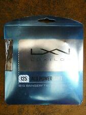 Luxilon Alu Power Soft String 1.25mm Gauge 7.5 Silver 12.2m