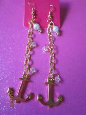 Anchor Dangle Earrings