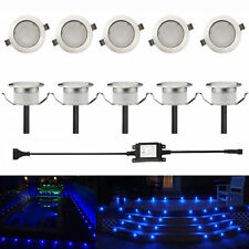 Low Voltage Led Deck Light Kit Waterproof Outdoor Garden Porch Stairs Landscape