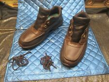 """RUGGED SHARK  """"Courrierlo""""  Men's Brown Leather TRAIL SHOES - Size 11 M"""