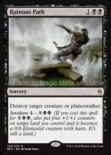 Mtg RUINOUS PATH Battle for Zendikar rare  Magic the Gathering card
