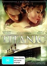 TITANIC- Leonardo Dicaprio, Kate Winslet-Region 4-New and Sealed-2 Discs Set