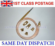 UNIVERSAL THERMOCOUPLE 900MM LONG WITH THREADED END - FREE POSTAGE