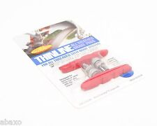 KOOL-STOP THINLINE MOUNTAIN BIKE V BRAKE PADS SHOES RED