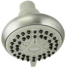 Waterpik EcoFlow Brushed Nickel 3 Setting Showerhead Vbe-429