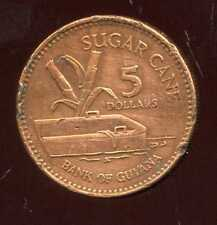 GUYANA  5 dollars 2005