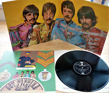 The Beatles Sgt Pepper's Lonely Hearts Club Band 1973 Press NM/EX with insert