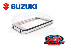 SUZUKI BOULEVARD C90T C90 M90 NEW GENUINE OEM CHROME RADIATOR COVER